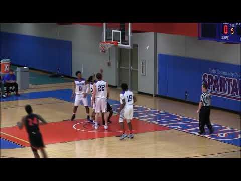 Men's Basketball VS Elgin Community College Game Highlights (02/21/18)