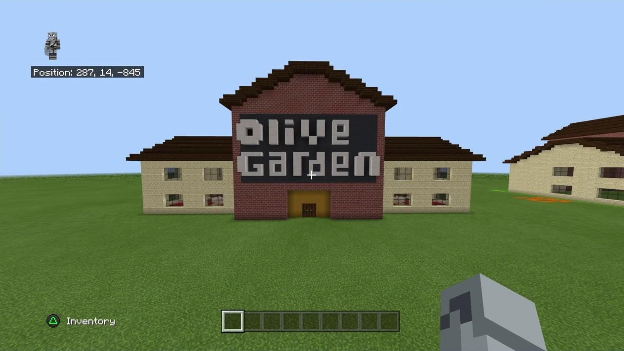 Minecraft Tutorial: How To Make An Olive Garden Interior ...