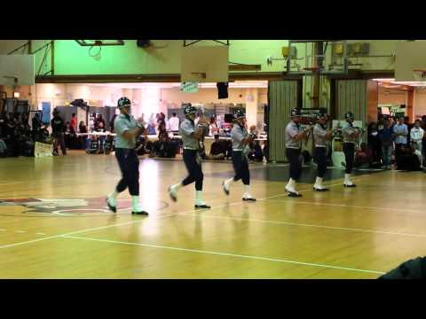 Francis Lewis High School Patriot Guard Armed Drill2015 ?? ???