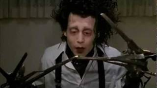 Edward Scissorhands Clip - At the Dinner Table