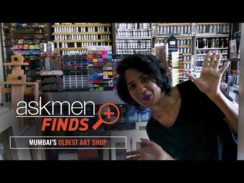 #AskmenFinds | Mumbai | Oldest art Shop | AskMen India