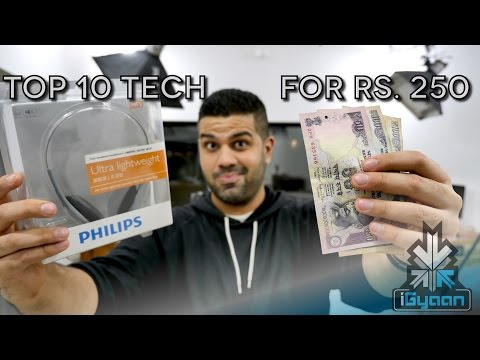 Top Tech For Rs 250 : Budget Technology Shopping List 3 - iGyaan