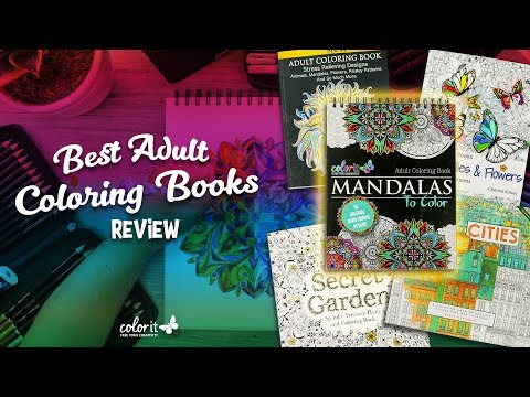 The Best Adult Coloring Books Review - YouTube