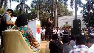 Jashn-e-Rekhta 2017...RJ Sayema on Urdu