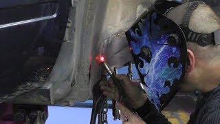 💥 Техника сварки тонкого металла встык с зазором. Урок от  КАХОВКИ.