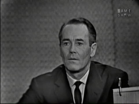 What's My Line? - Henry Fonda; Gig Young [panel] (Jan 15, 1961)