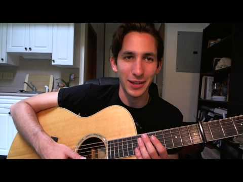 Wildfire By John Mayer Acoustic Guitar Tutorial