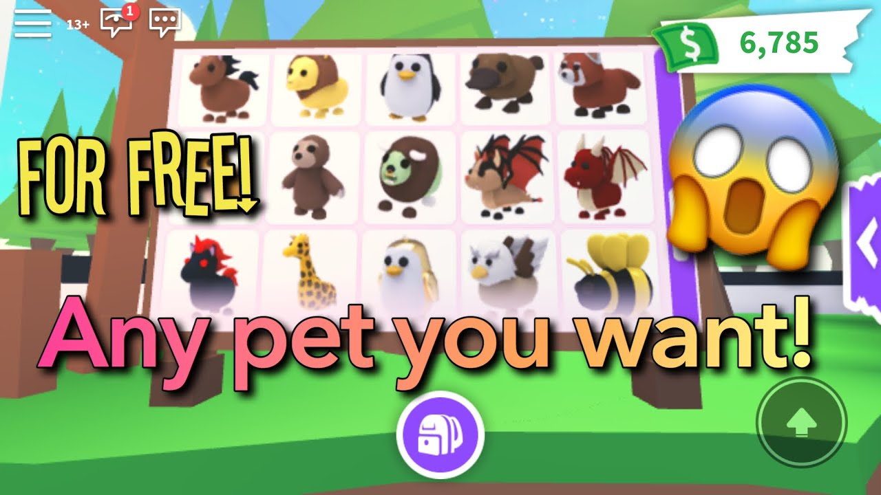 Roblox Adopt Me Pets Gif How To Get Any Pet For Free In Roblox Adopt Me Omg Youtube