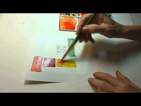 Watercolor Sketching & Journaling - Part 4 - Gay Kraeger