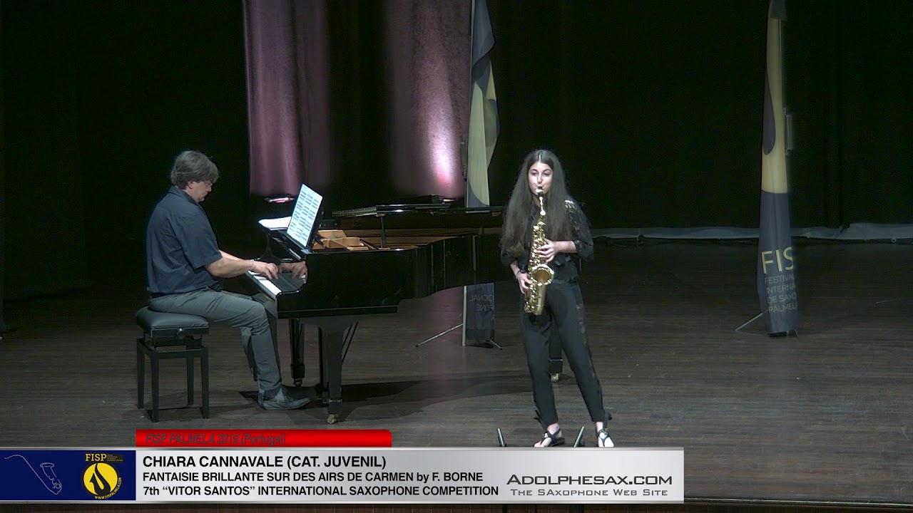 FIS PALMELA 2019   Chiara Cannavale   Fantasie Brillante sur des aires du Carmen by Francois Borne