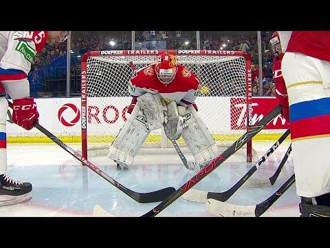 Россия - Западная хоккейная лига. Хоккей. Суперсерия Россия - Канада. Молодежные сборные
