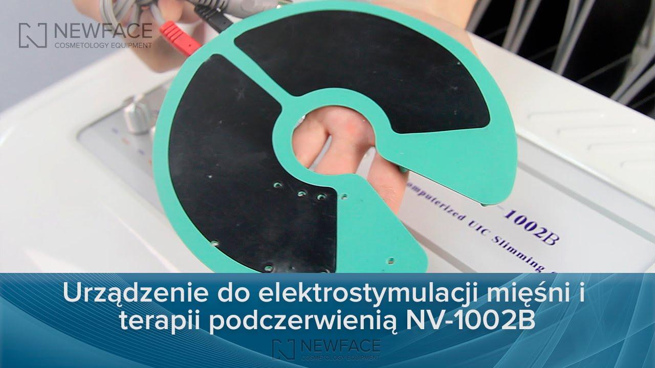 Aparat do elektrostymulacji z nagrzewaniem NV-1002B