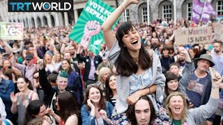 Irish Abortion Referendum: Over 66% vote for change to abortion law