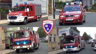 🚒 TSF Feuerwehr Thierbach + KdoW + TLF 16/25 + DLK 23/12  Feuerwehr Naila