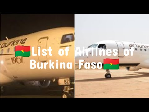 List of Airlines of Burkina Faso | Aviation BD
