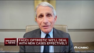 Dr. Anthony Fauci: Virus cases plateauing, coming down