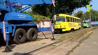Трамвай насмерть сбил женщину возле одесского СИЗО