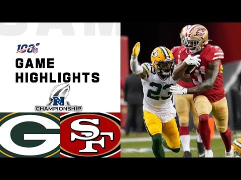 Смотреть Packers vs. 49ers NFC Championship Highlights | NFL 2019 Playoffs онлайн