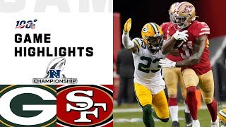 Фото Packers Vs. 49ers NFC Championship Highlights | NFL 2019 Playoffs