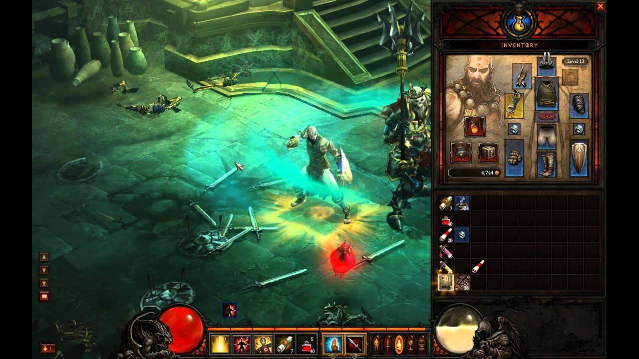 Diablo 3 Skeleton King on Inferno Difficulty - YouTube