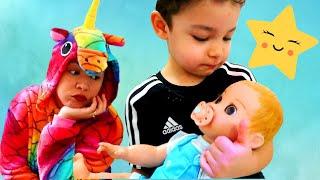Lullaby Song | Nursery Rhymes | Kinderlieder und lernen Farben