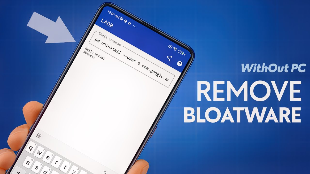 How to Remove Bloatware from Samsung Phones [without Root & PC]