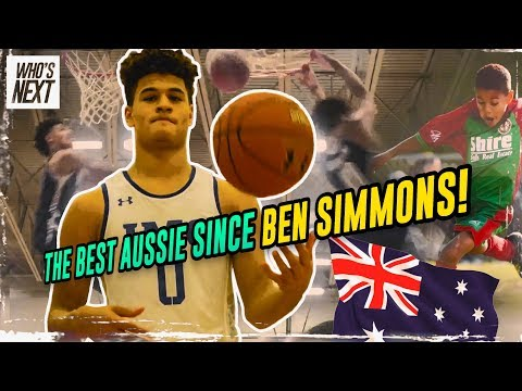 IMG Academy's SECRET WEAPON! Josh Green Came From Australia To Take over The NBA! Next Ben Simmons!?