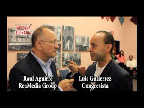 Interview Luis Gutierrez by Raul Aguirre Tucson Arizona 10/12/2012