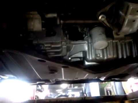 2012 honda accord 2.4 liter oil change - YouTube
