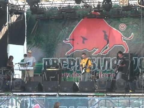 The Бруд - Холодный мартовский дождь (Live in Koktebel 08.08.2011)