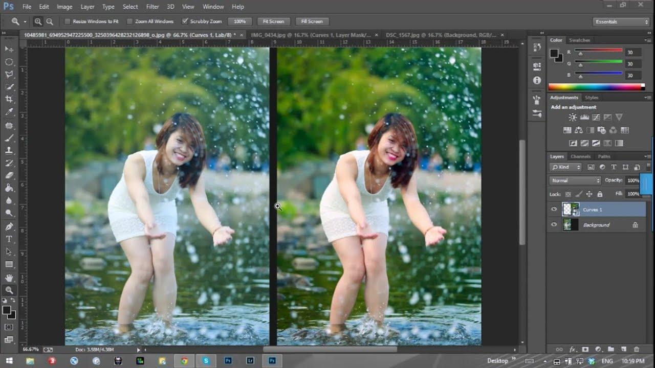 Blend màu trong chỉ 1 bước với Lab color  | HPphotoshop.com 😍
