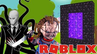 🐷 DIMENSION SLENDERMAN VS CHUCKY EN ROBLOX - AENH