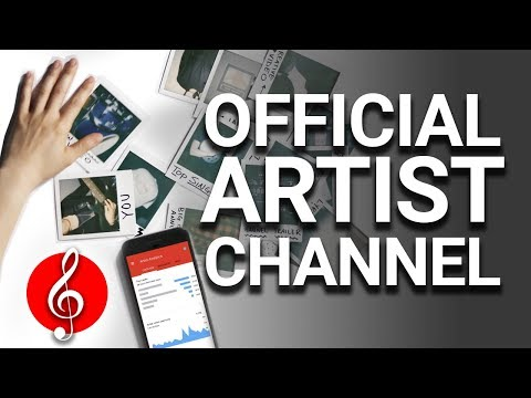 Setting up your Artist channel - YouTube