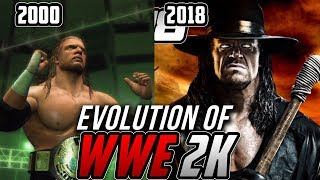 Graphical Evolution of WWE 2K (2000-2018)