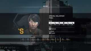 Hideo Kojima Is A Special Guess & Worker On Mother Base On  METAL GEAR SOLID V: THE PHANTOM PAIN