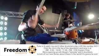 #OMGMF - Live Drumming @ Freedom Church
