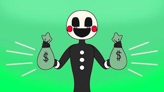 Minecraft Fnaf: Puppet Master Is Rich (Minecraft Roleplay)