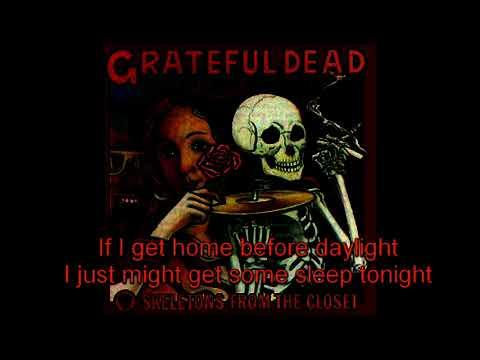 Grateful Dead - Friend of The Devil - Lyrics (In-Video)!!