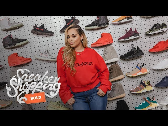 Lauren London Goes Sneaker Shopping