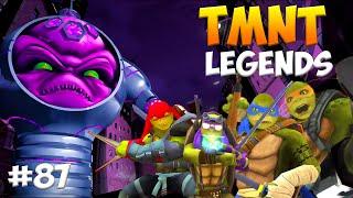 Черепашки-Ниндзя: Легенды. Прохождение #87  FINAL Bosses (TMNT Legends IOS Gameplay 2016
