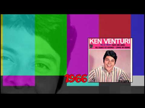 KEN VENTURI Ma Lili Hello 1966 ( Alan PRICE SET in French )
