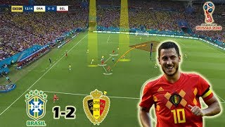 How Martinez Out-Played Tite's Brazil | Brazil vs Belgium 1-2 | Tactical Analysis | World Cup