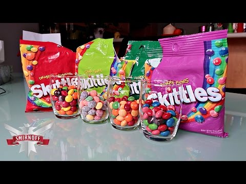 How To Make Candy Skittles Shots