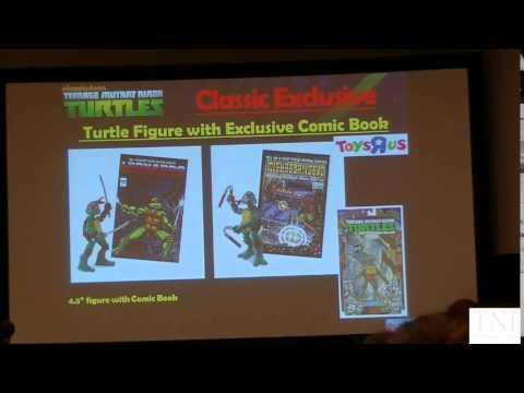 Teenage Mutant Ninja Turtles Playmates Toys San Diego Comic-Con 2014 Panel