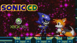 Sonic CD playthrough (Xbox 360)