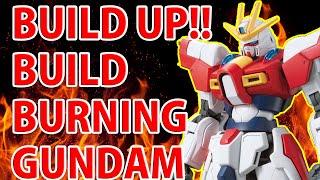 "Gunpla Stop Motion Movie ""BUILD BURNING GUNDAM"" from Gundam Build Fighters TRY"