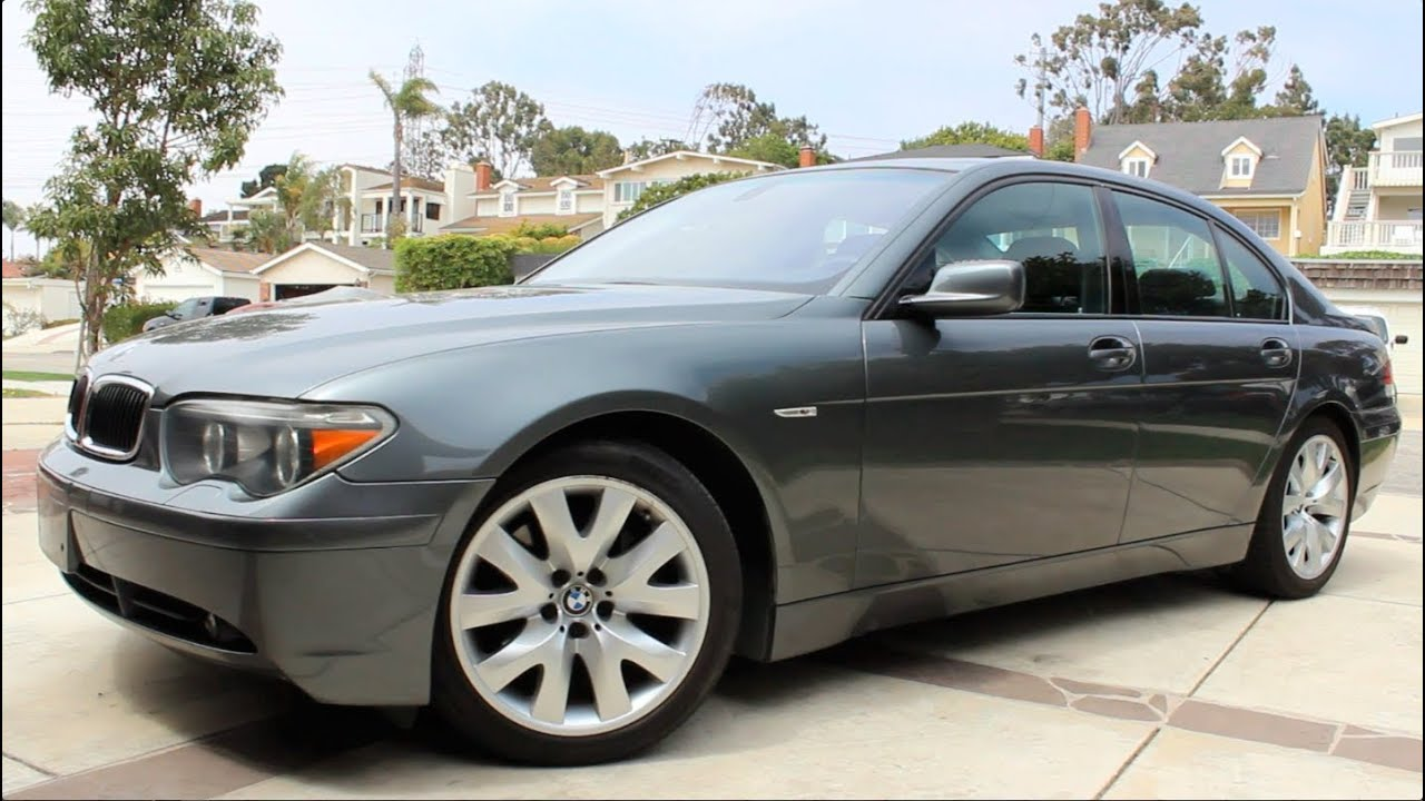 2004 bmw 745i review - youtube
