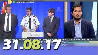 Al Día Debate Político 13tv 31.08.17