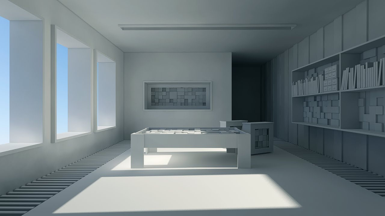 3d Perspective Wallpaper Interior Rendering With Mental Ray Part 1 Youtube