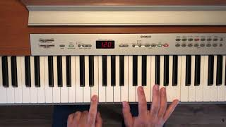 al jarreau   morning   keyboard tut